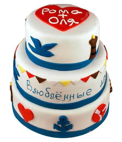 Торт с именами
