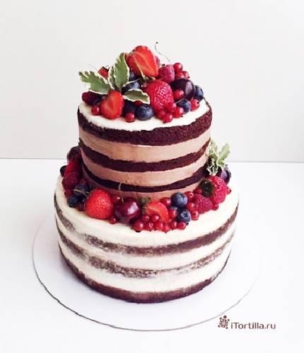 Голый торт «Рустик»