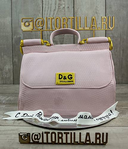 Торт сумка D&G