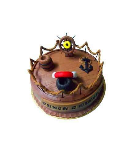 Торт Палуба корабля