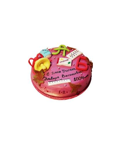 Торт С днём учителя