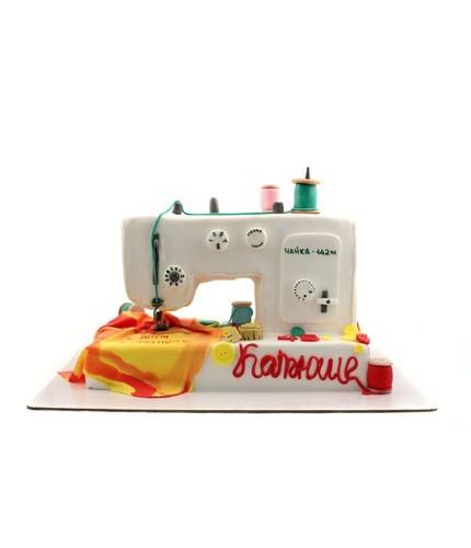 Торт Швейная Машина Чайка