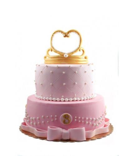 Торт с диадемой