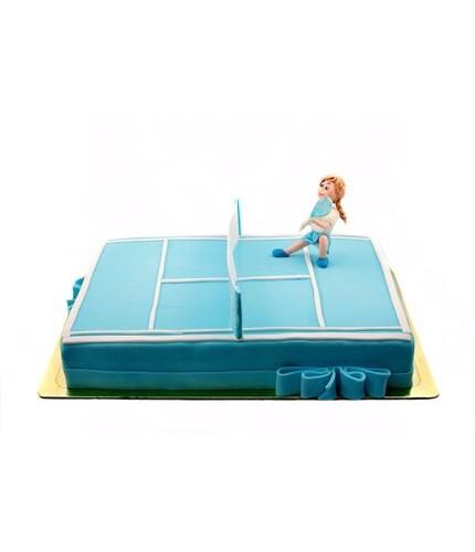 Торт Теннисистка