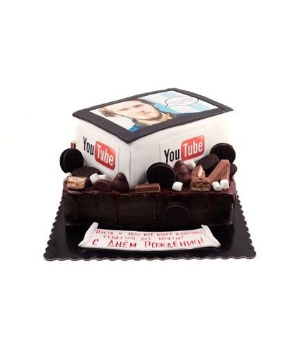 Торт ютуб