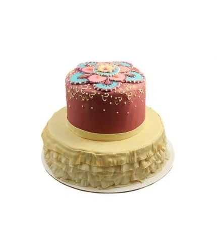 Торт в индийская свадьба