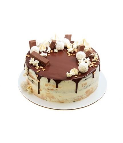 Торт с рафаэло
