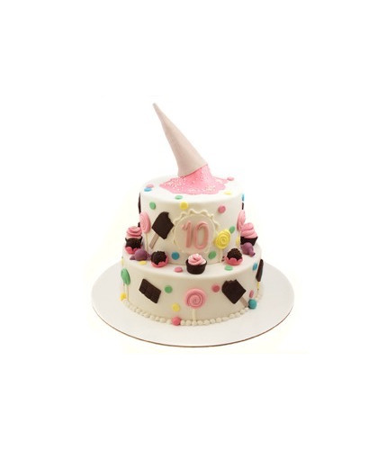 Торт с рожко
