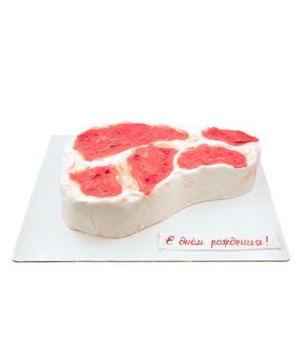 Торт кусок мяса