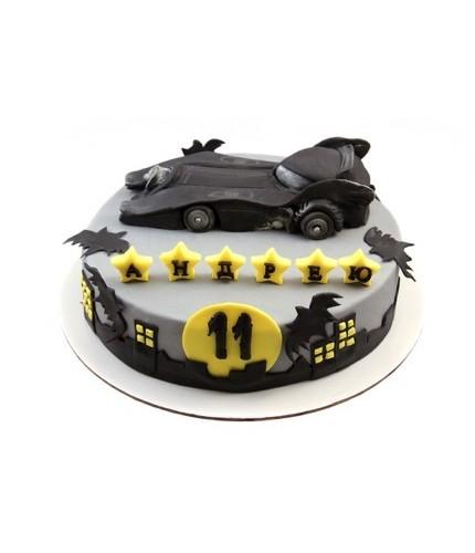Торт машина Бетмена