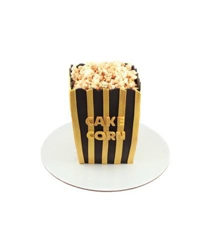 Торт ведро с попкорном