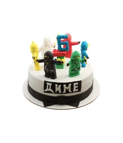 Торт Ниндзя Лего