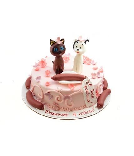 Торт котенок ГАФ