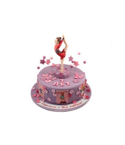 Торт для гимнастки