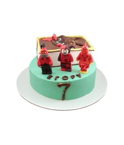 Торт Лего Nexo