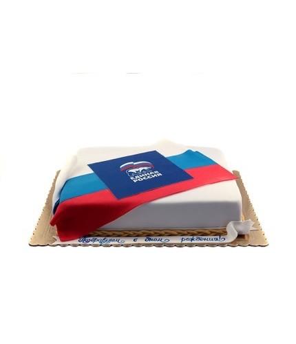 Торт Единая Россия