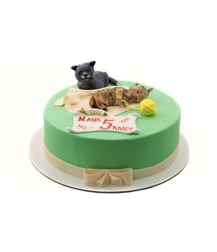 Торт котята