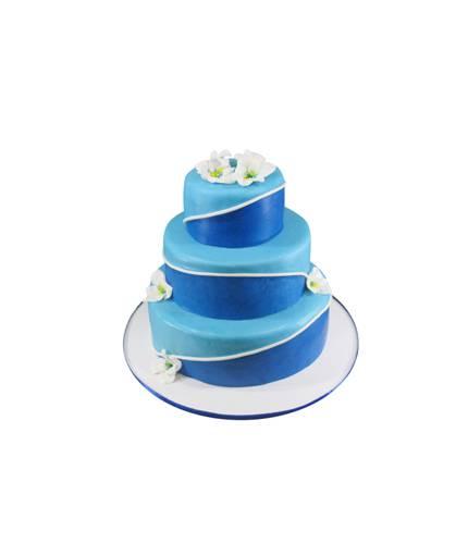Торт морская волна
