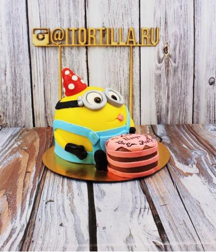Торт Миньон с тортиком
