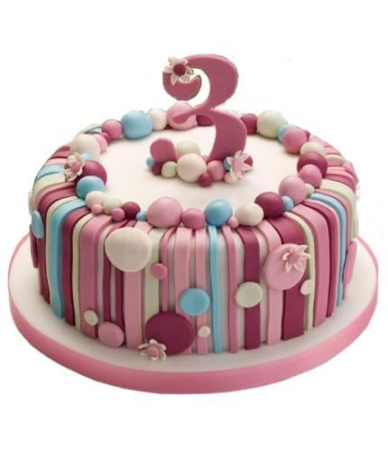 Торт на 3 годика