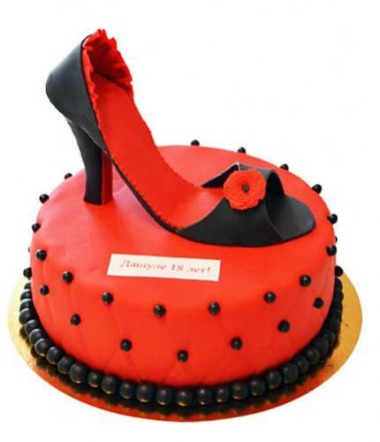 Торт туфли