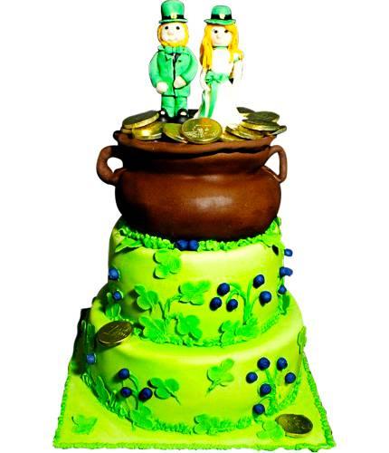 Торт Свадьба Лепреконов