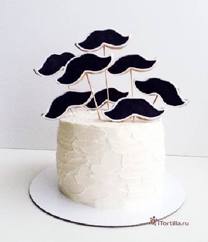 Торт с усами