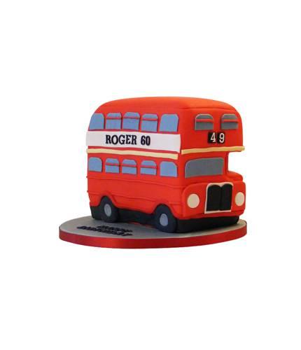 Торт Красный автобус
