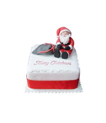 Торт с Санта Клаусом