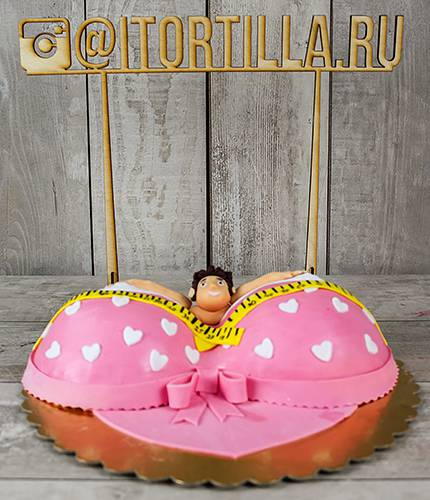 Торт грудь