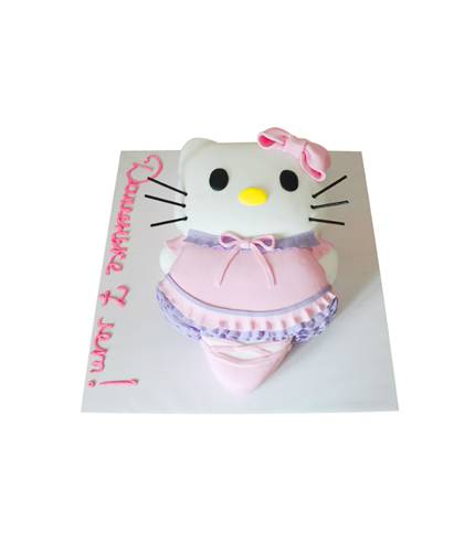 Торт Привет котик