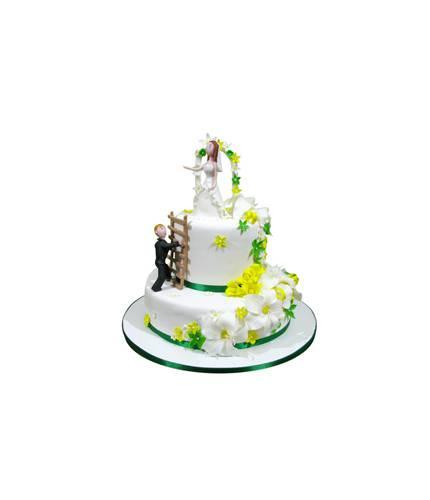 Свадебный торт Жених и лестница