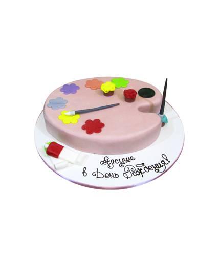 Торт Палитра