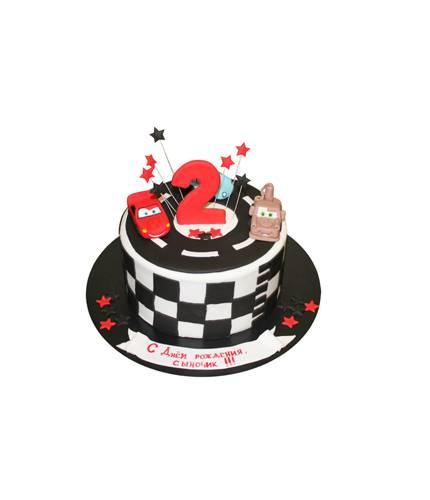 Торт на День Рождение Тачки