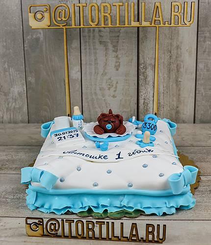 Торт мишка на модушке