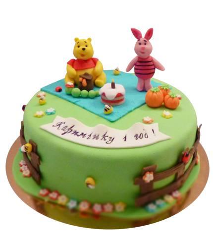 Торт праздник Винни