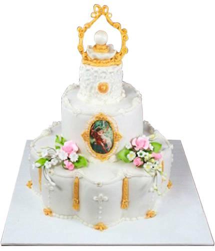 Торт с жемчужиной