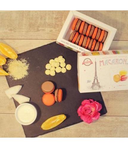 Макарони шоколад-апельсин