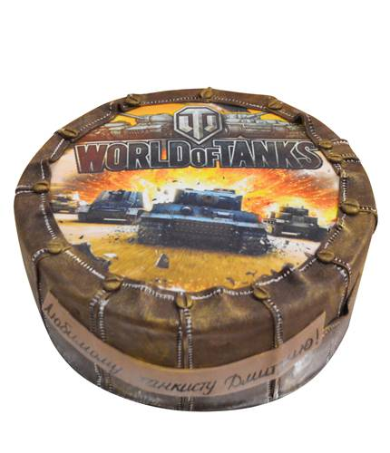 Торт Worlds Of Tanks