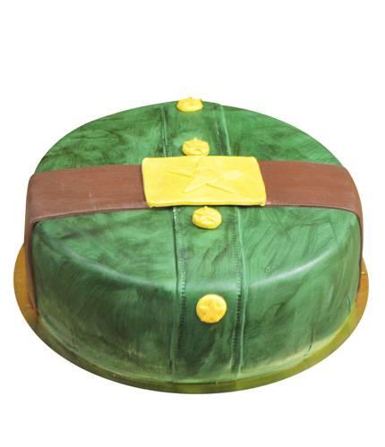 Торт армейская форма