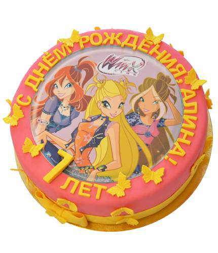 Торт фея винкс