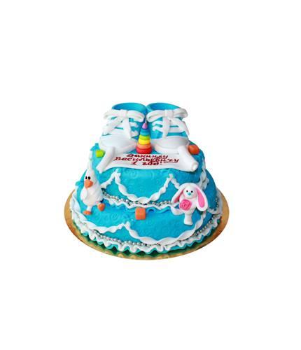 Торт Синие кеды