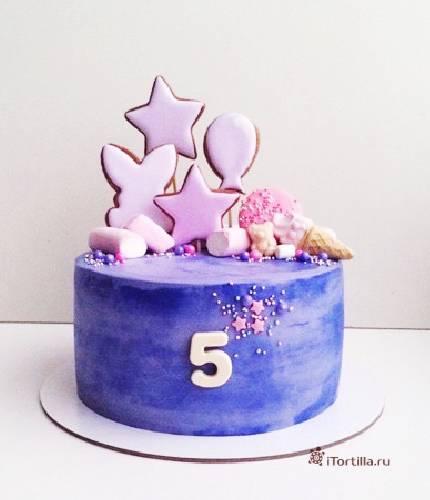 Торт на 5 лет