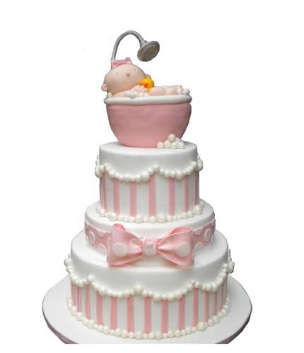 Торт с пупсом