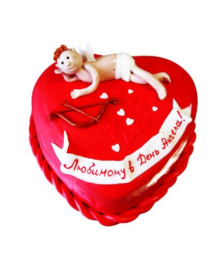 Торт с ангелочком