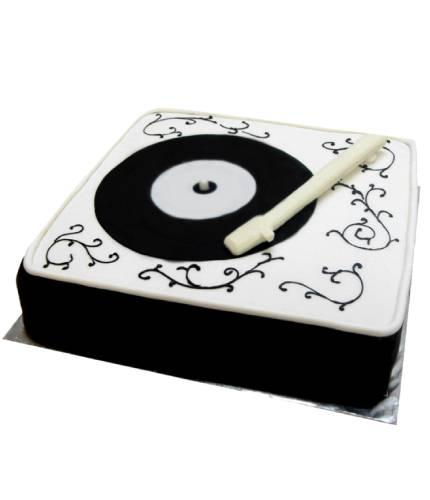 Торт граммофон