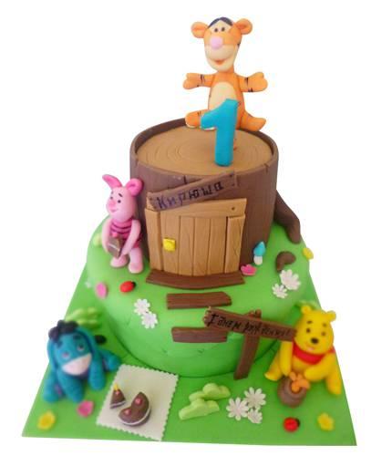 Торт Винни и друзья