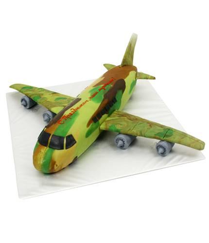 Торт военный самолет