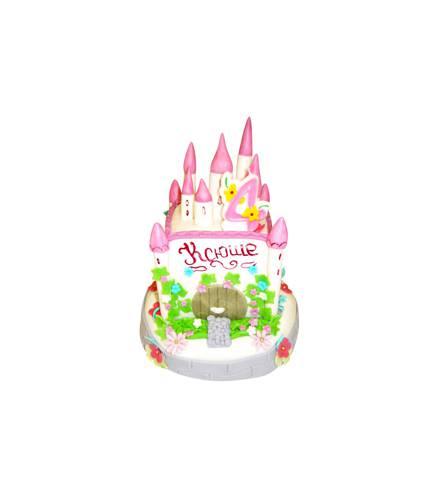 Торт в форме замка