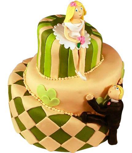 Торт Невеста и Жених